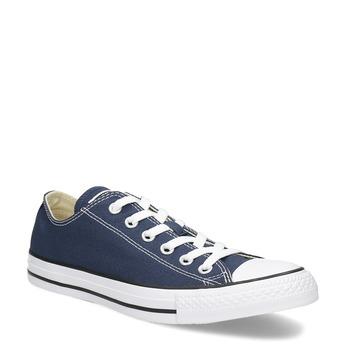 Dámské textilní tenisky s gumovou špičkou converse, modrá, 589-9279 - 13