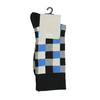 Kostičkované pánské ponožky bata, vícebarevné, modrá, 919-9801 - 13