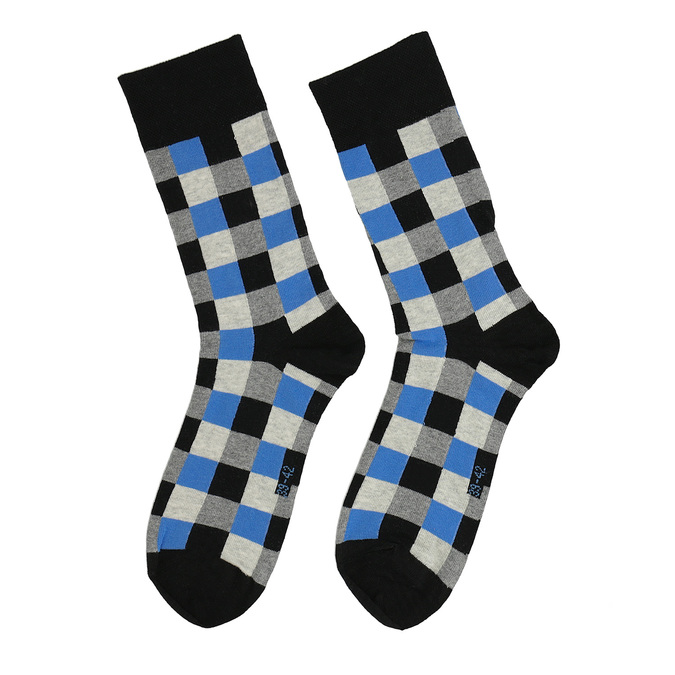 Kostičkované pánské ponožky bata, vícebarevné, 919-9801 - 26