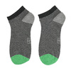 Pruhované kotníkové ponožky pánské bata, šedá, 919-2804 - 26