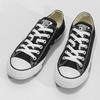 Dámské černé tenisky s gumovou špičkou converse, černá, 589-6279 - 16