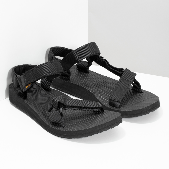 Černé dámské sandály v Outdoor stylu teva, černá, 569-6535 - 26