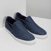 Modré pánské Slip-on boty z textilu bata-red-label, modrá, 839-9602 - 26