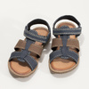 Chlapecké sandály z kůže mini-b, modrá, 366-9610 - 16