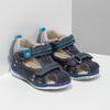 Modré dětské sandály bubblegummers, modrá, 161-9605 - 26