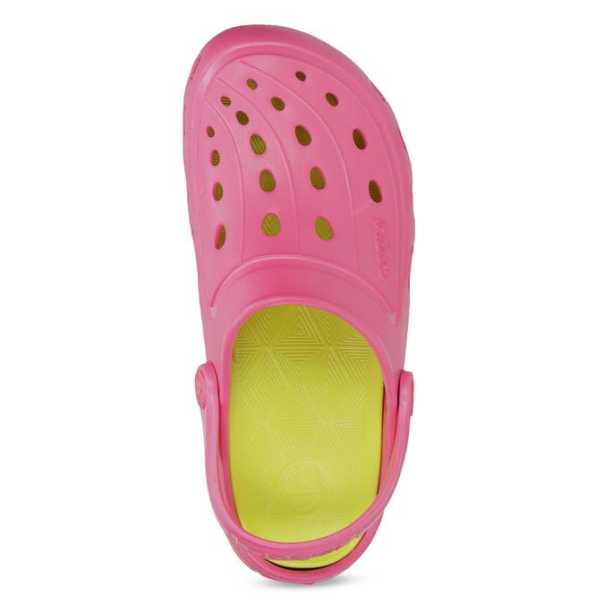 Růžové sandály typu Clogs coqui, růžová, 372-5656 - 17