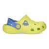 Dětské sandály s žabkou coqui, zelená, 272-7650 - 19