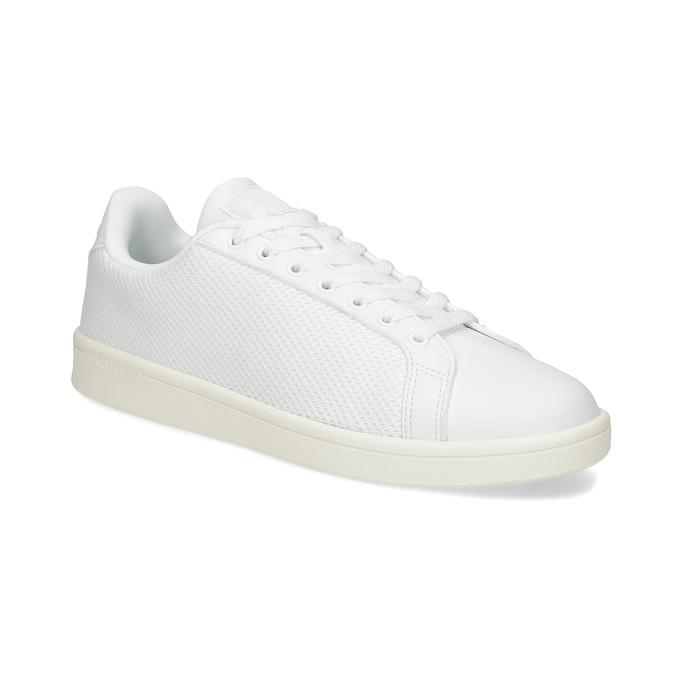 Bílé pánské tenisky se síťovinou adidas, bílá, 809-1395 - 13