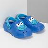 Modré dětské sandály s žabkou coqui, modrá, 272-9651 - 26
