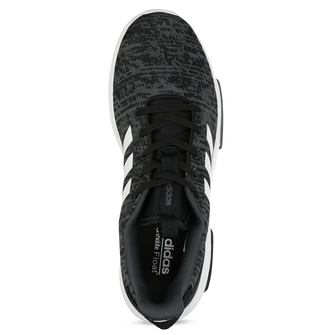 Pánské tenisky s melírovaným designem adidas, černá, 809-6301 - 17