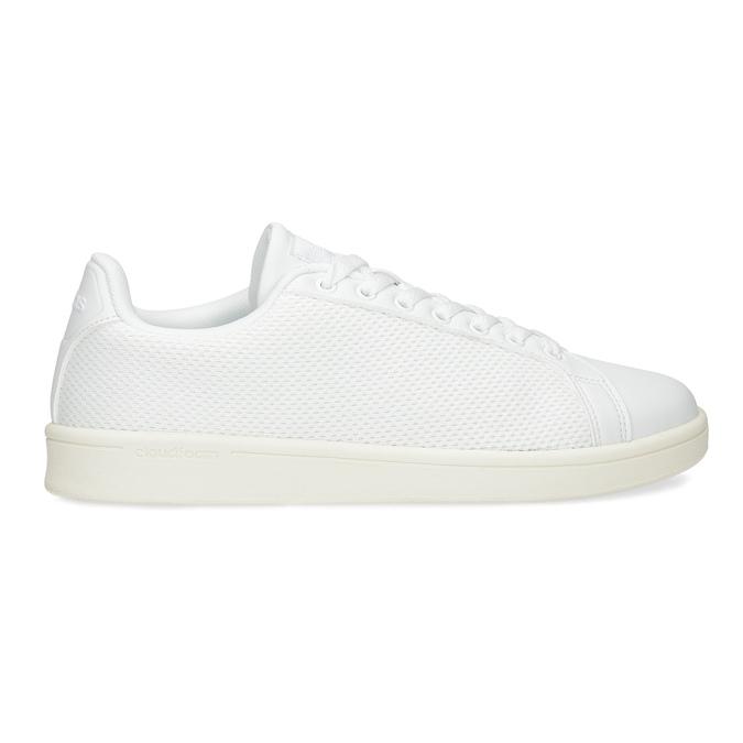 Bílé pánské tenisky se síťovinou adidas, bílá, 809-1395 - 19