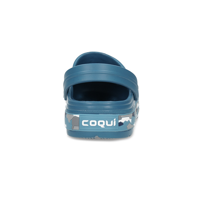 Pánské nazouváky typu Clogs tyrkysové coqui, tyrkysová, 872-9657 - 15