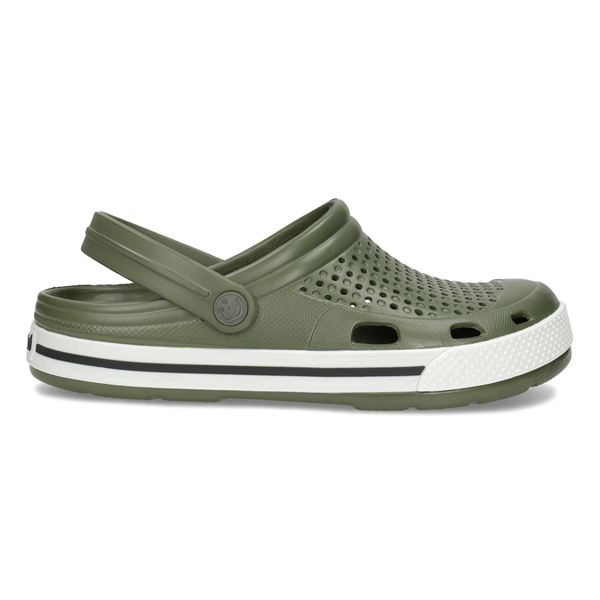 Pánské sandály typu Clogs khaki coqui, khaki, 872-7656 - 19