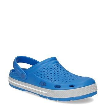 Pánské sandály typu Clogs modré coqui, modrá, 872-9656 - 13