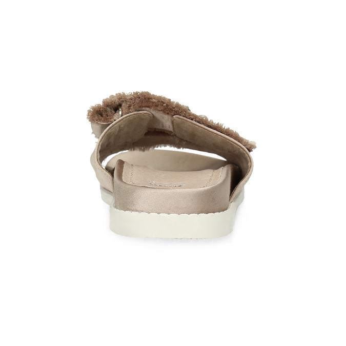 Nazouváky s kamínky a perličkami zlaté bata, béžová, 569-8618 - 15