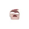 Růžové saténové nazouváky s perličkami bata, růžová, 569-5615 - 15