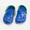 Modré dětské sandály se žabičkou coqui, modrá, 272-9650 - 16