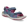 Dívčí sandály v Outdoor stylu weinbrenner, modrá, 466-9606 - 13