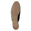 Pantofle z broušené kůže černé vagabond, černá, 573-6004 - 18