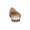 Pantofle z broušené kůže červené vagabond, červená, 573-5004 - 15