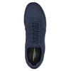 Pánské modré tenisky s pleteným svrškem vagabond, modrá, 829-9022 - 15