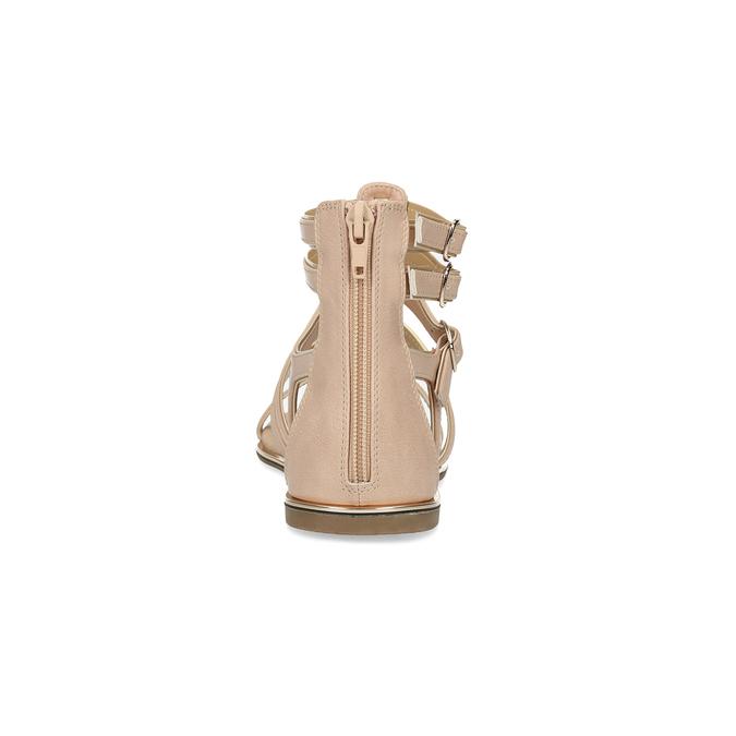 Béžové dámské sandály Gladiátorky bata, 561-8620 - 15