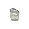 Kožené sandály v Outdoor stylu šedé weinbrenner, šedá, 566-2634 - 15