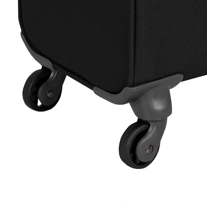 Černý textilní kufr samsonite, černá, 960-6039 - 16