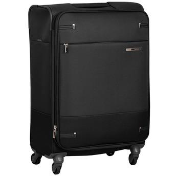 Černý textilní kufr samsonite, černá, 960-6039 - 13