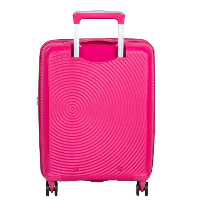 Růžový skořepinový kufr american-tourister, růžová, 960-5615 - 26
