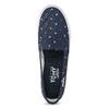 Tmavě modré slip-on tenisky tomy-takkies, modrá, 589-9172 - 17