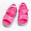 Dětské růžové sandály dívčí coqui, růžová, 372-5658 - 16