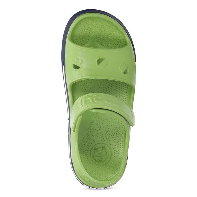 Dětské zelené sandály chlapecké coqui, zelená, 372-7658 - 17
