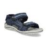 Modré chlapecké sandály weinbrenner, modrá, 463-9605 - 13