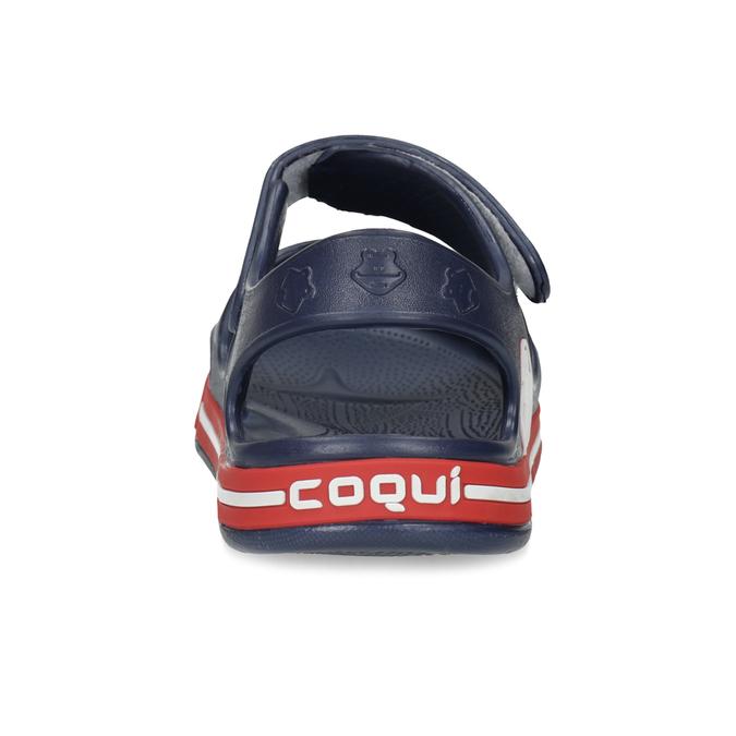 Dětké tmavě modré sandály coqui, modrá, 372-9658 - 15