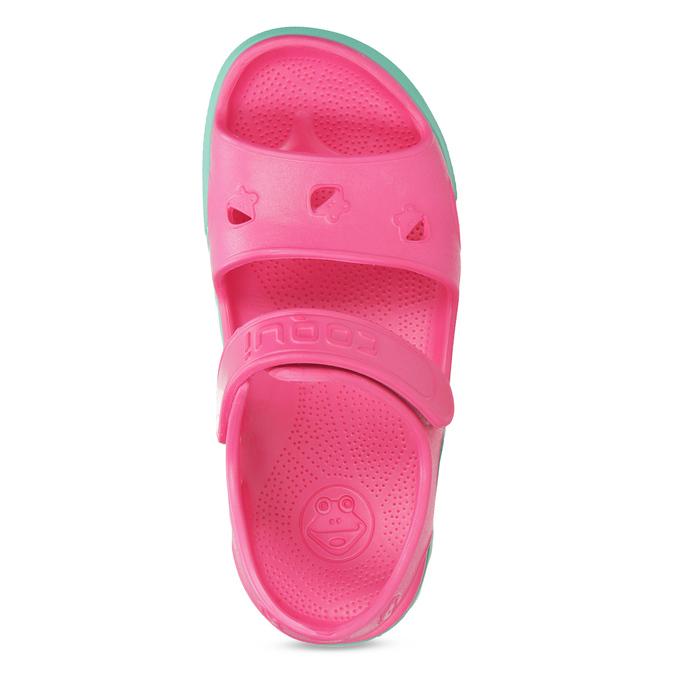 Dětské růžové sandály dívčí coqui, růžová, 372-5658 - 17