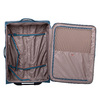 Velký tyrkysový textilní kufr na kolečkách roncato, modrá, 969-9719 - 17