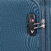 Velký tyrkysový textilní kufr na kolečkách roncato, modrá, 969-9719 - 15