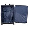 Středně velký textilní kufr na kolečkách roncato, černá, 969-6710 - 17