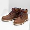 Kotníčková zimní obuv pánská bata, hnědá, 896-3677 - 16