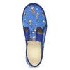 Modré dětské přezůvky s fotbalisty bata, modrá, 279-9129 - 17