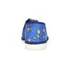 Modré dětské přezůvky s fotbalisty bata, modrá, 279-9129 - 15