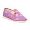 Dětské růžové přezůvky se vzorem bata, růžová, 379-5218 - 13