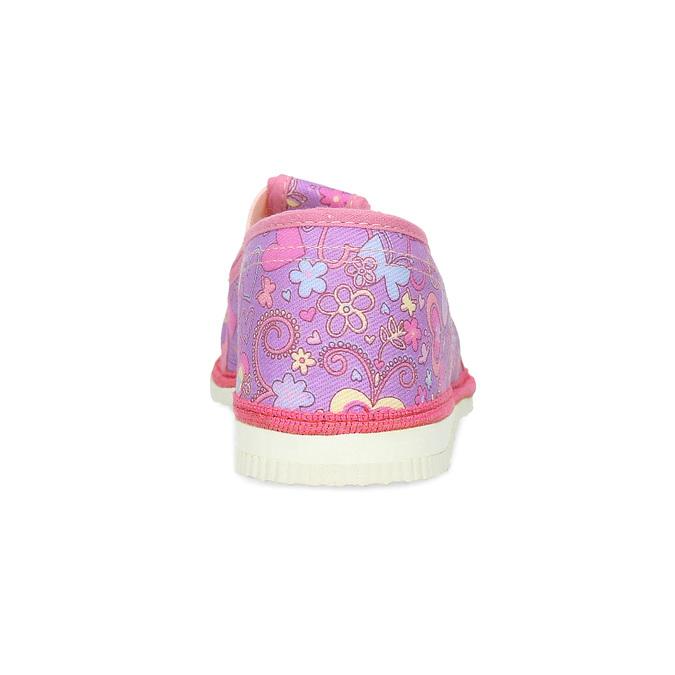 Dětské růžové přezůvky se vzorem bata, růžová, 379-5218 - 15