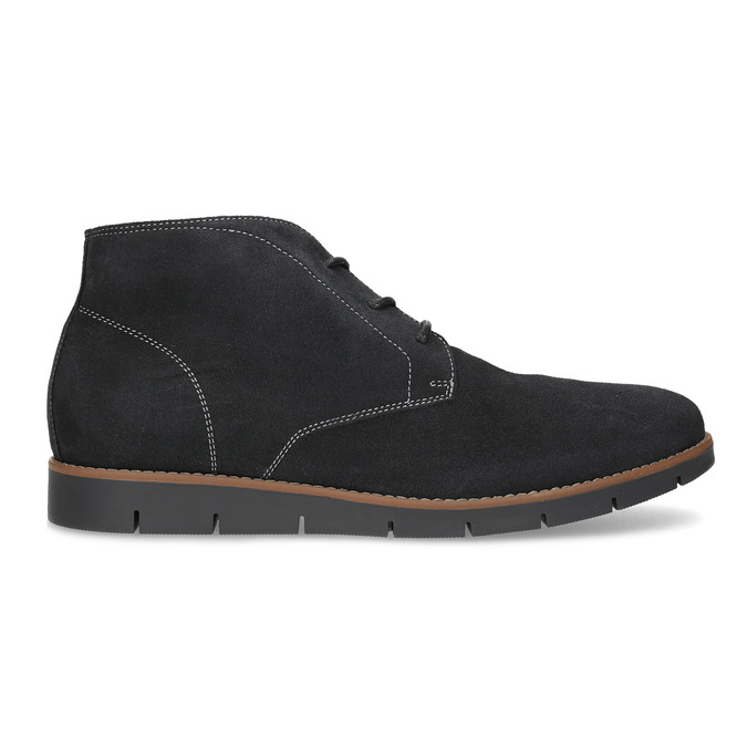 Pánská kotníčková kožená obuv modrá flexible, modrá, 823-2632 - 19