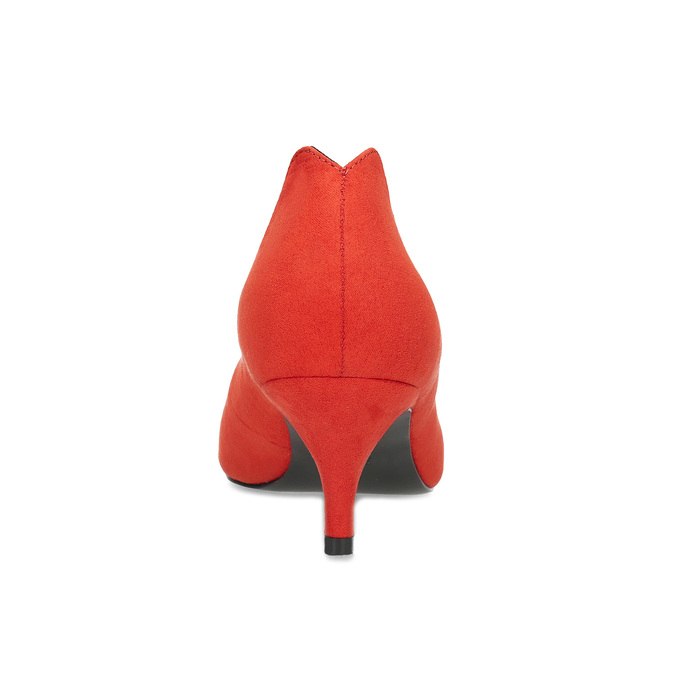 Červené lodičky do špičky insolia, červená, 629-5648 - 15