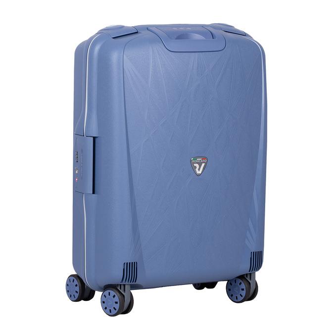 Palubní zavazadlo modré na kolečkách roncato, modrá, 960-9731 - 13