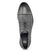 Kožené šedé pánské Derby polobotky bata, šedá, 826-2782 - 17