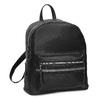 Černý dámský batoh s kamínky bata, černá, 961-6867 - 13