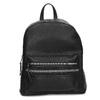 Černý dámský batoh s kamínky bata, černá, 961-6867 - 26